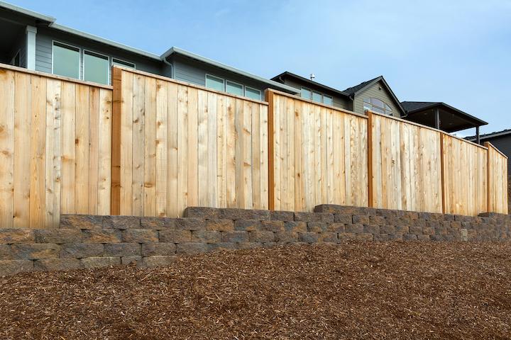 Lariks Douglas houten tuinscherm